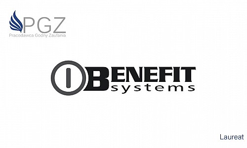 Benefit Systems - laureat PGZ